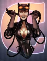 Catwoman Color by Battlewraith