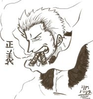Smoker Calig by KaizokuShojo
