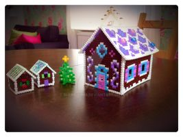 Ginger Bead houses by Blondy1999