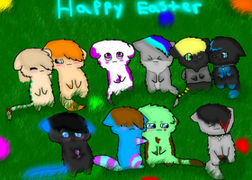 Happy Easter by breebree223