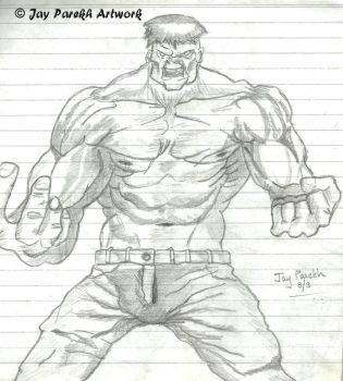 The Hulk by Mettalicslash