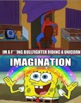 spidy's crazy imagination by SNESS107