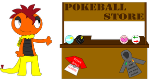 Pokeball school store by Jeffery-Cat