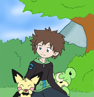 .::A Future Gym Leader::. by Flamongirl13