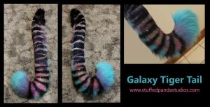 Galaxy Tiger Tail by stuffedpanda-cosplay