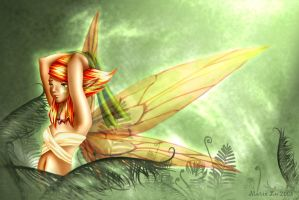 A Dream of Summer Pixies by mree