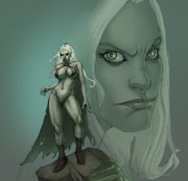 goblin queen by bleakest by Selkirk