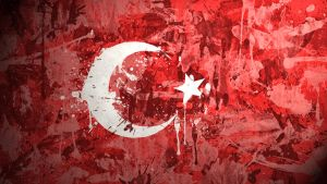 Turkish Flag Wallpaper by GaryckArntzen