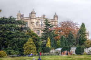 Wollaton Hall Gardens II by teslaextreme