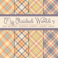 Free My Plaided World 9 by TeacherYanie