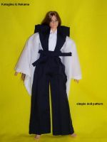 Kataginu Hakama doll tutorial by Tenshi-blues