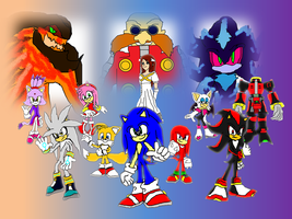 Sonic the Hedgehog 2006 Wallpaper. by 9029561