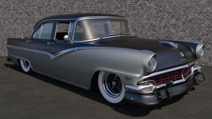 1956 Ford Fairlane Town Sedan by SamCurry