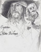 Capitaine Hector Barbossa by cpn-blowfish