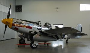 North American P-51B indoors by shelbs2
