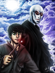 Harry And Voldemort by Kosmik90