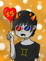 .:GIFT:. Happy 15th by constantlyBuzzing
