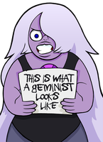 Message From Amethyst by curtsibling
