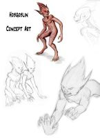 Hobgoblin concepts by SilverGryphon8