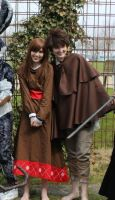 ROTG Cosplay Jack and his younger sister by 77Flower77