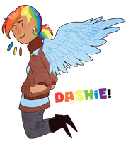 Dashie by Nyan-Cow