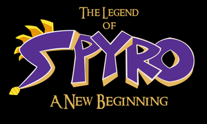 My Spyro Title by Shadowpredator100