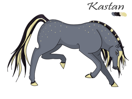 Kastan: DS Stallion by FeralFlames