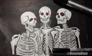 Skeletons in the closet... by SpaniardWithKnives