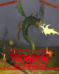 Trogdor Movie Poster by kavinveldar