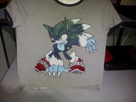 Werehog of The Night Shirt Ver. 1 by shadowbane2009