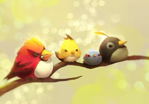 Angry Bird by ethe