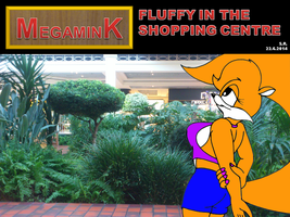 Fluffy In The Shopping Centre by Megamink1997