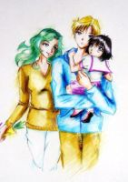 Outer family by LoveSenshi