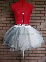 Snow and Ashes mix color tutu by Wilya12