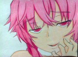 Yuno Gasai fan art draw by EvilCaio