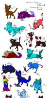 Cat Adoptables by Scottietail