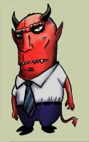 Archfiend of Middle Management by michaelpatrick