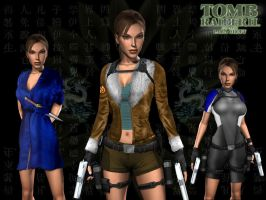 Outfits of Tomb Raider II by EscorpioTR