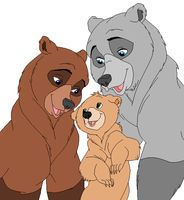 Brother Bear Base 1 by RaindropLily