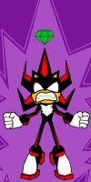 Shadow The Hedgehog going super! by GamerZzon