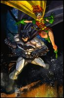 Randy Green's Dark Knight by lizzbuenaventura