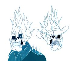 GhostRider New and Old by Nomad55