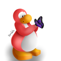 Clubpenguin butterfly by ISmileh