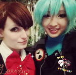 Minako and Fuuka by LookAliveCosplay