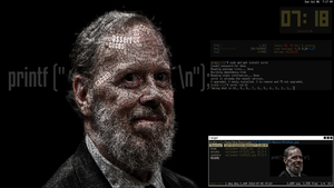 Dennis_Ritchie_Scrot_II by lrcaballero