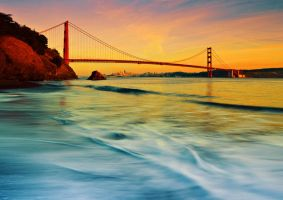 Golden Gate Bridge by stammberger13