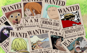 Mugiwara's New Wanted Posters by muslu