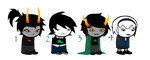 Homestuck Fantrolls/Fankids Adoptables -CLOSE- by St3amPunk