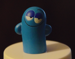 My Bloo Figure by FootballLover