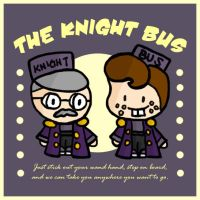 Knight Bus Ad by cippow25